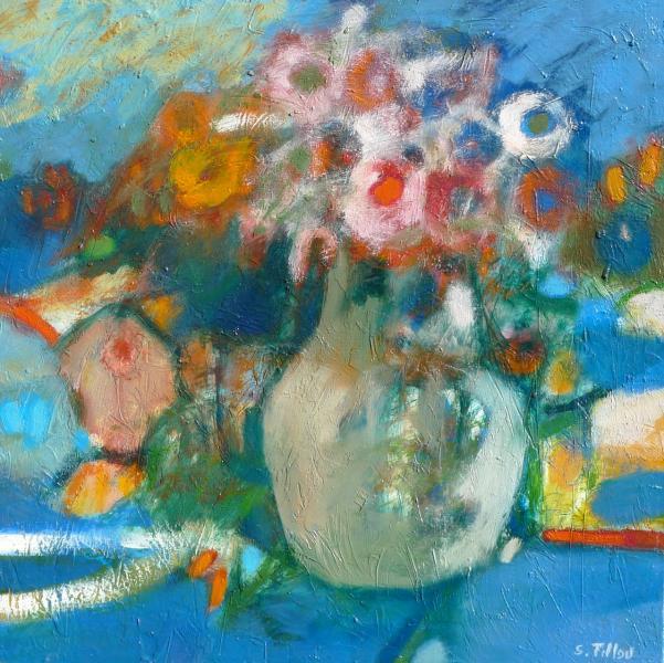 Serge Tillou - La cruche aux fleurs - 40/40